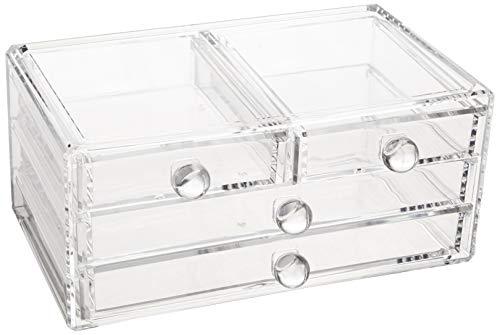 Amazon Basics - Caja de accesorios - 4 cajones