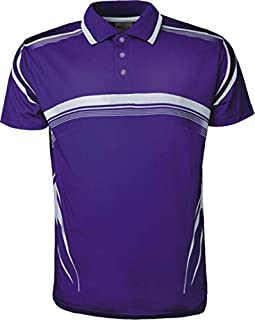 Men's Polo Shirt Cool Quick-Dry Sweat-Wicking Color Block Short Sleeve Sports Golf Tennis T-Shirt Short Sleeve Fully Sublimated Gradated Sports Polo with Knitted Collar
