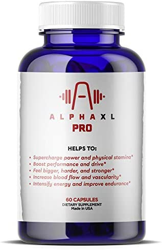 Alpha XL Pro Premium Natural Testosterone Booster Dietary Supplement for Men Ultimate Energy product image