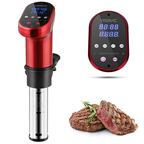 YISSVIC Sous Vide Cooker 1000W Immersion Circulator Sous Vide Vacuum Heater Accurate Temperature...