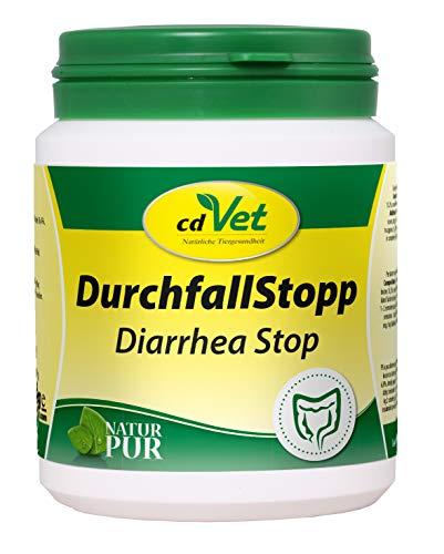 cdVet Naturprodukte DurchfallStopp 150 g - Hund, Katze - Diät-Ergänzungsfuttermittel - Resorptionsstörung im Darm - bildet Schutzbarriere - Bindung von Toxinstoffen - B-Vitamin - Gesundheit -