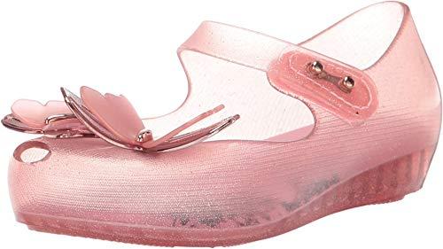 Melissa Girls Mini Ultragirl Fly III BB Ballet Shoes, Pink Glitter, Size 10 Toddler