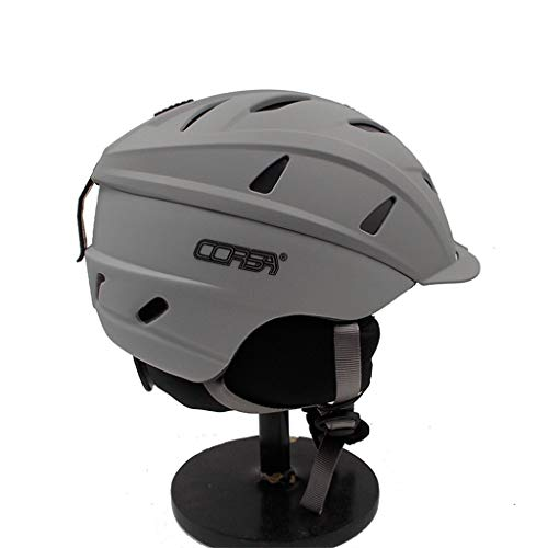 zyy Helm, Unisex Helm Freeride Ski/Snowboard Ultralight Winter Warm