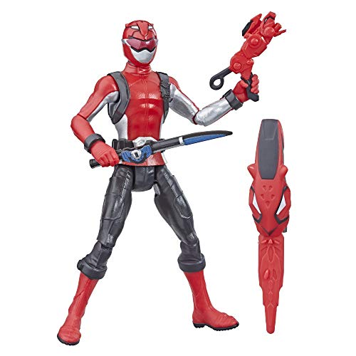 """Power Rangers Beast Morphers Red Ranger 6"""" Action Figure Toy Inspired by The TV Show"""