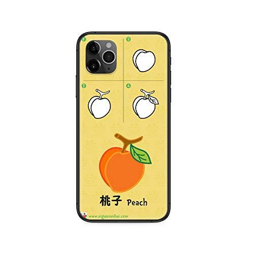 Schutzhülle für iPhone 12 11 8 7 6 5 XR Plus X XS PRO SE 2020 MAX Mini Schwarz Cellcover Silikon Rückseite 3D wasserdicht 7-iPhone 12 Pro