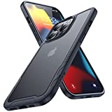 Humixx Kompatibel mit iPhone 13 Pro Hülle [Military Grade Drop Tested] Scrub Matte Transluzent...