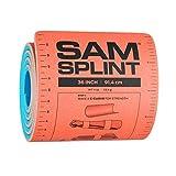 SAM Rolled Splint 36', Orange/Blue