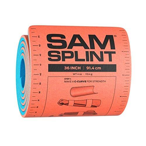 SAM Rolled Splint, Orange/Blue