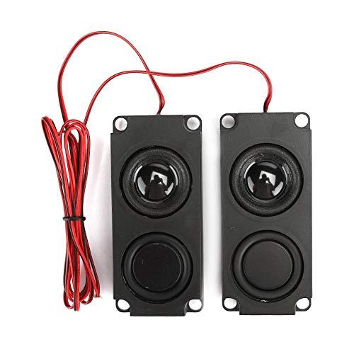 VBestlife Draagbare heavy bas audio cavity 40 mm magnetische dubbele luidspreker voor tv-monitoren, breed en volledig bereik, heldere geluidskwaliteit
