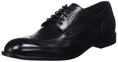 Geox Herren U SAYMORE F Oxford, Black, 42 EU