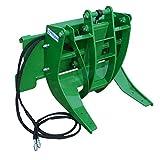 Titan 29' Hydraulic Log Grapple Attachment Fits John Deere Hook and Pin Tractors