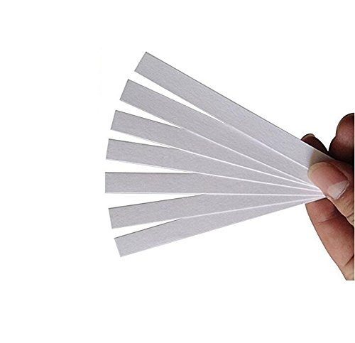 100PCS White 15cm x 0.7cm/6inch x 0.28inch Disposable Perfume Test Strips Aromatherapy Fragrance Essential Oil Test Paper/Perfume Blotter/Fragrance Smelling Strips