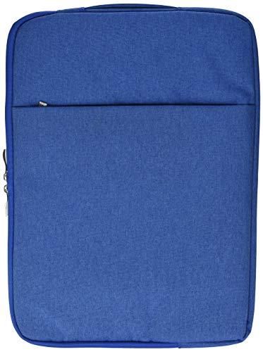 Laptoptas met jeans-effect, 15 inch (38,1 cm), voor Dell PC, laptop, blauw