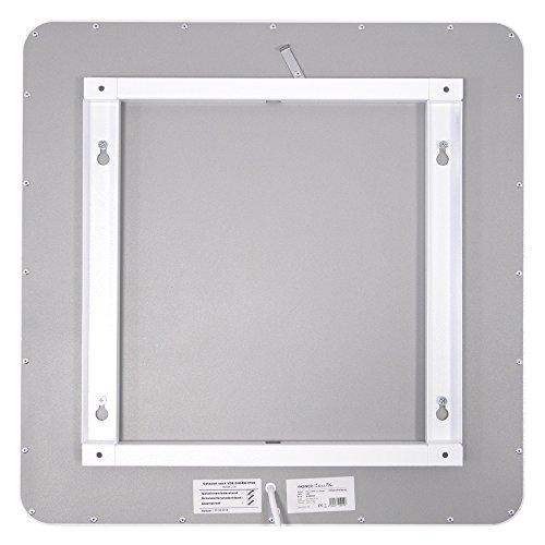 VASNER Citara M-Plus Design Infrarot-Heizung 900 Watt Metall weiß re Ecken 120x60cm TÜV Bild 4*