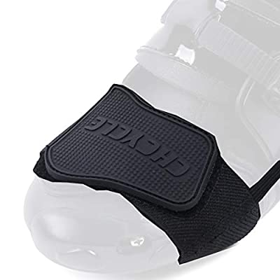 CHCYCLE Gear Shifter Accessories for Shoes Motorcycle Boots Protector (Black) from Lening