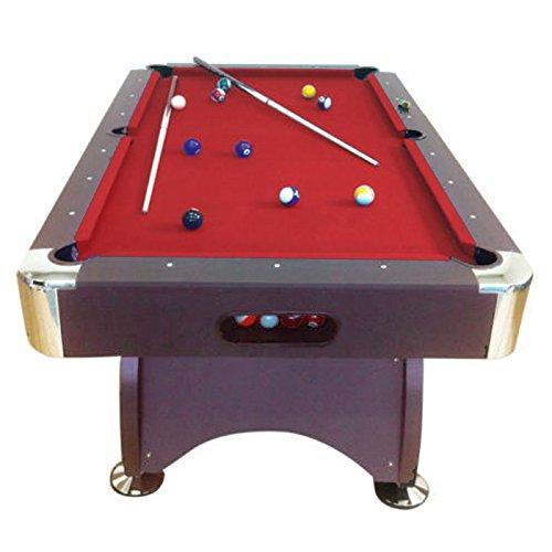 Billardtisch 7 ft Modell RED DEVIL Full Optional Billard Billard-Spiel Messung 188 x 96 cm neue