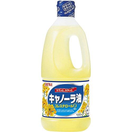 SHOWAキャノーラ油1000g