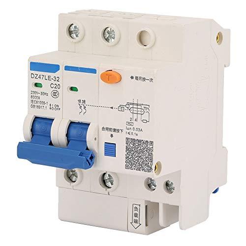 63A 63A GYL8 25//40 // 63A 2P FI-Schutzschalter GYL8 2P RCCB Residual Current Circuit Breaker Electric Leakage Protection 230VAC Fehlerstromschutzschalter 230VAC