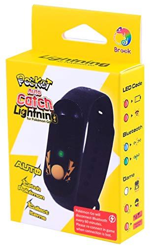 Pocket Auto Catch LIGHTNING 2020 für Pokémon Go (multicolor Einzel-LED-Alternative zum Go Plus & Go-Tcha Evolve & Reviver) wasserdicht/staubdicht