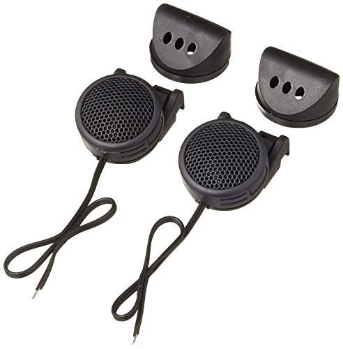 """VOYZ Mini Car Tweeter Kit 180 Watts of Power - High Frequency Silk Dome Tweeters - 1.6"""" High Fidelity, Efficiency and Performance Audio System 4 ohm - Dual Mounting - Surface or Angle - Black - 1 Pair"""