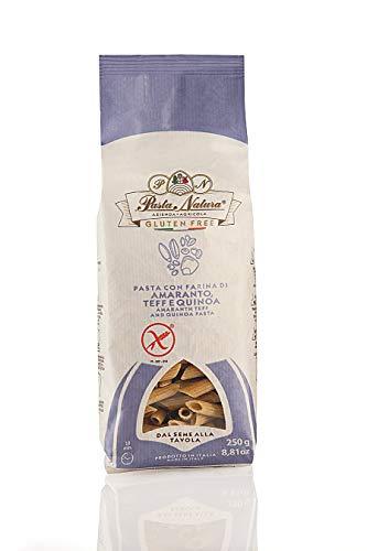 Glutenfreie Pasta mit Hülsenfrüchten und Getreide 250gr (Penne mit Amaranth, Teff und Quinoa)