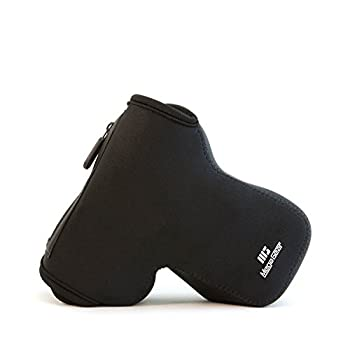 MegaGear MG1268 Nikon D3500 D5600 D3400  18-105  D5500 D3300 D5300 D5200 D5100 Ultra Light Neoprene Camera Case Black