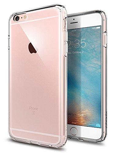 Spigen Ultra Hybrid Hülle Kompatibel mit iPhone 6s Plus & Kompatibel mit iPhone 6 Plus -Crystal Clear