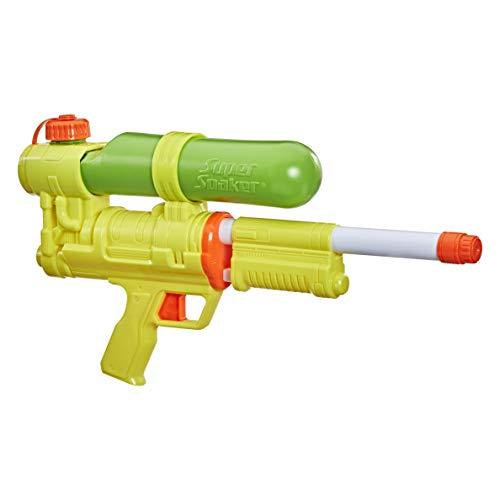 Hasbro Nerf Super Soaker XP50-AP Wasserblaster, der Tank besteht aus recyceltem Plastik, Cooles Retro-Design, Spritz-Attacke mit Druckluft