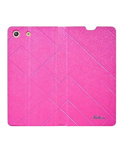 COVERBLACK Flip Cover for Sony Xperia M5 - E5663 - Pink