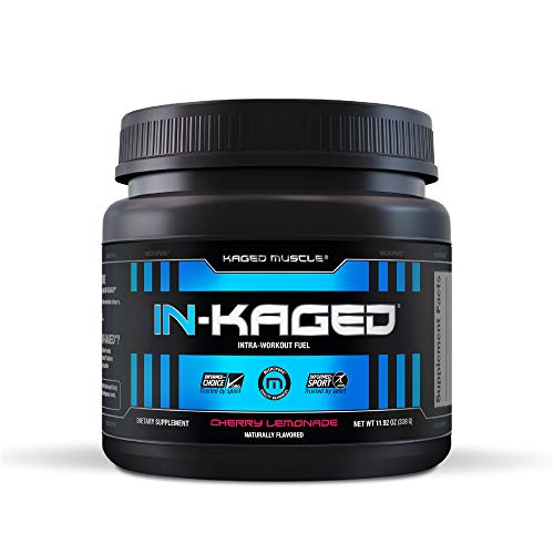 Kaged Muscle in-Kaged Intra-Workout Fuel, Cherry Lemonade, 20 Count