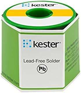 Kester 285 Activated Rosin Flux Core Lead-Free Solder Wire - +792 degF Melting Point - 0.015 in Wire Diameter - Sn/Ag Compound - 24-7050-9703 [PRICE is per POUND]