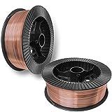 PGN - ER70S-6 .023' (0.6 mm) Mild Steel MIG Welding Wire - 2x 11 Lbs Spool