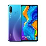 HUAWEI P30 Lite (Blue) Smartphone + cover, 4 GB RAM, Memoria 128 GB Espandibile, Display 6.15' FHD+, Tripla Fotocamera Posteriore da 48+8+2 MP, Fotocamera Anteriore 24 MP [Italia]