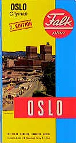Falk Pläne, Oslo (Falk Stadtplan Extra Standardfaltung - Deutschland)