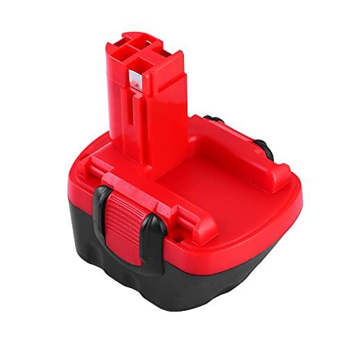 Topbatt 12V 3.0Ah Ni-MH Batería de Repuesto para Bosch BAT043 BAT045 BAT120 BAT139 2607335542 2607335526 2607335274 2607335709 GSR 12-2 12VE-2 PSR 12 GSB 12VE-2 22612 23612 32612 (12v)