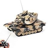 XIAOKEKE Tanque De Control Remoto Mini RC Tanque con Cargador USB Cable De Control Remoto del Tanque Panzer con El Sonido, Regalo del Vehículo De Niños Mejor Fin De Año De Navidad RC,C
