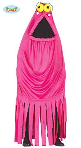 Pinkes Monster Kostüm für Erwachsene Gr. M/L