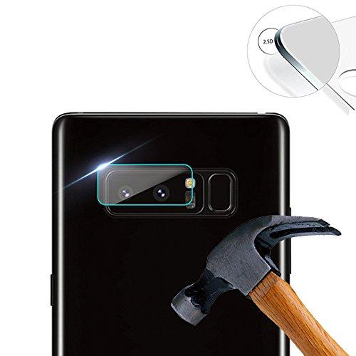 Lusee 3 Stück Kamera Panzerglas für Samsung Galaxy Note 8 SM-N950F 6.32 Handy Kamera Protector Linse Schutzfolie Hohe Transparenz [Anti Kratzer] [Anti Fingerabdruck] Panzerglas Kameraschutzfolie