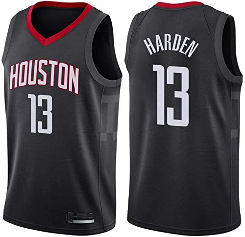 Men's NBA Basketball Jersey Houston Rockets # 13 James Harden Resistente al Desgaste Resistente a la Malla Bordada Baloncesto Swingman Jerseys Camiseta Deportiva Jerseys,