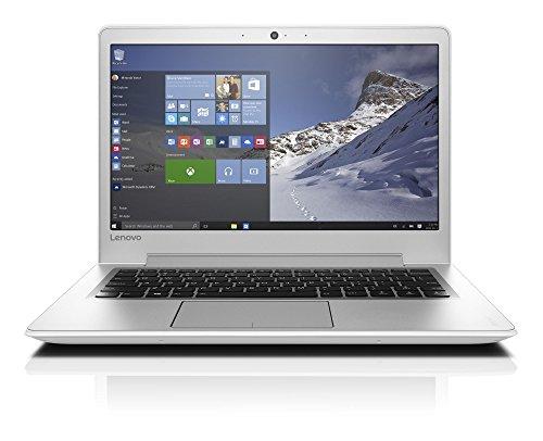 Lenovo Ideapad 510S-13IKB Portatile con Display da 13.3' HD, Processore Intel Core I3-7100U, RAM 4 GB, 500 GB HDD, Scheda Grafica Integrata, S.O. Windows 10 Home, Bianco