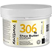 Naissance Organic Shea Butter (no. 306) 250g - Pure, Natural, Certified Organic, Unrefined, Hand Kneaded, Vegan and Fragrance Free