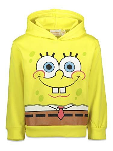 Nickelodeon SpongeBob SquarePants Toddler Boys Fleece Costume Hoodie Yellow 4T