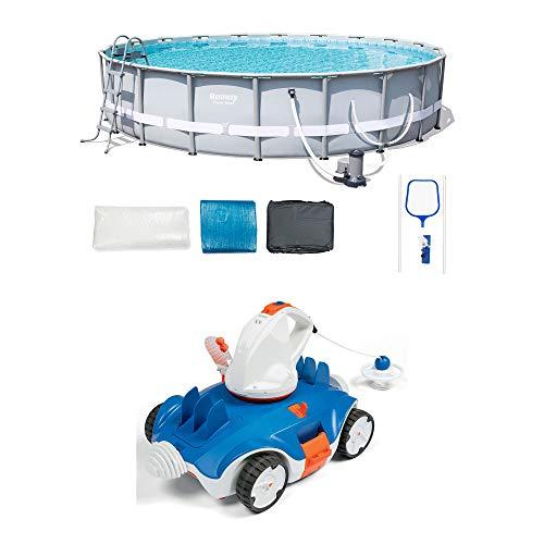 Bestway Steel Pro Frame Pool Set | Aquatronix Autonomous Cordless Pool Robot