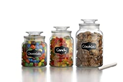 American Atelier Canister Set 3-Piece Glass Jars Review
