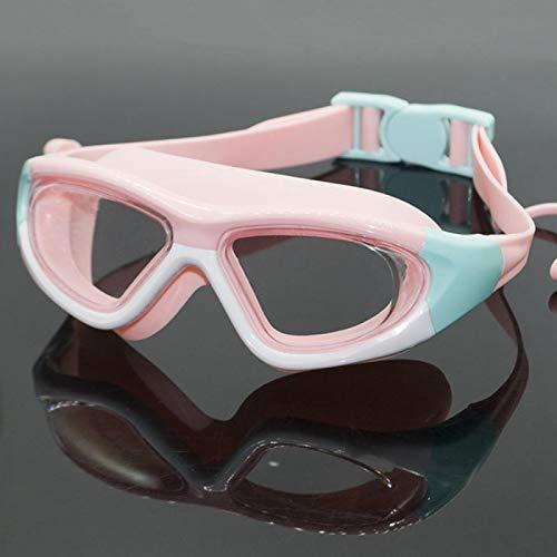 Nadar Gafas Anti-niebla Protección De La Natación Gafas De La Natación Earplug Niños Ropa Deportiva Piscina Para Niños Gafas De Natación Accesorios ( Color : 6 , Eyewear Size : For kids children )