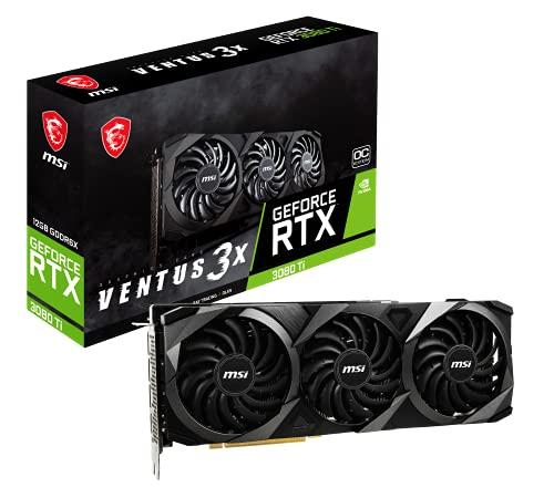 MSI GeForce RTX 3080 Ti Ventus 3X 12G OC Scheda video gaming