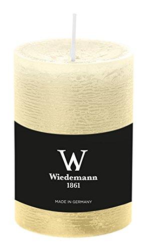 Wiedemann Marble Kerze durchgefärbt ASF, Wachs, Bisquit, 10 x 6.8 cm, 8-Einheiten