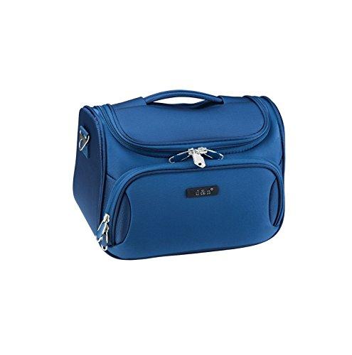 D&N Travel Line 6404 Kosmetikkoffer, 33 cm, 14L, Blau