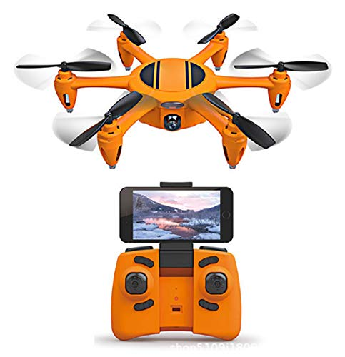 YZXZM Drone Six-Axis Aircraft with WiFi Camera Aerial Image Transmission Remote Control Aircraft RC Racing Drone