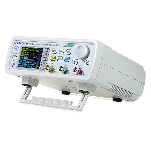 KKmoon 信号発生器 デジタル信号発生器 DDS信号発生器 デュアルチャンネル信号発生器 任意波形 周波数計 20...